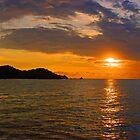 Sunset - Isla de Ixtapa by Rich Summers