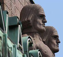 Masculine Nordic Sculpture in Helsinki by Vishal Pandey