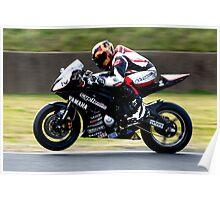 Aaron Gobert #10   FX Superbikes   Eastern Creek Poster