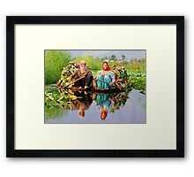 Women are hard workers than men Framed Print