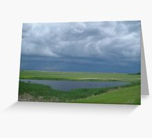 Pending Storm Greeting Card