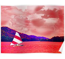 Sailing the Red Sea of My Mind Poster