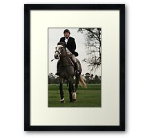 Hunt Club Framed Print