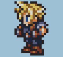 Cloud Strife Sprite - FFRK - Final Fantasy VII (FF7) Kids Clothes