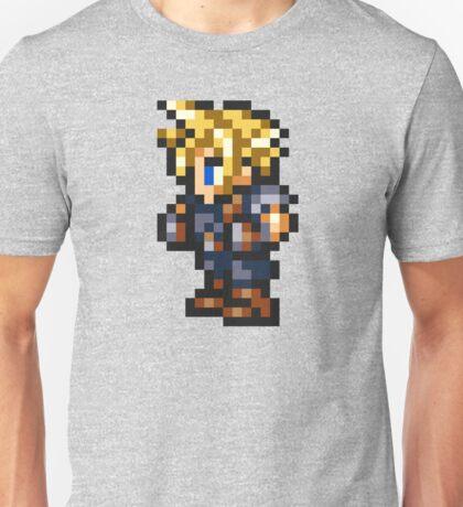 Cloud Strife Sprite - FFRK - Final Fantasy VII (FF7) Unisex T-Shirt