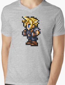 Cloud Strife Sprite - FFRK - Final Fantasy VII (FF7) Mens V-Neck T-Shirt