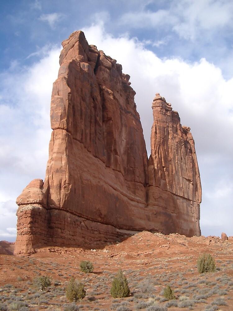 Red Rock in Moab Utah by bitterdregs