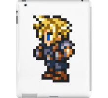 Cloud Strife Sprite - FFRK - Final Fantasy VII (FF7) iPad Case/Skin