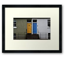 The Neighbours Were Trying to Keep it Quiet, But I Swear That I Could Hear the Laughter Framed Print