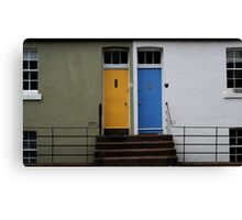 The Neighbours Were Trying to Keep it Quiet, But I Swear That I Could Hear the Laughter Canvas Print