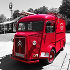 Old French Citroen Fire Engine by hootonles