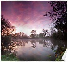 Russel's Pond, Windsor Great Park, UK Poster