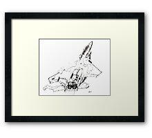 F-15 Jet Fighter Framed Print