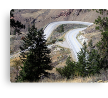 Road with a Twist Canvas Print