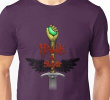 Hawk the Slayer (80 style) Unisex T-Shirt
