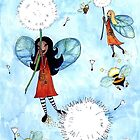 Flights of Fancy - &#x27;Riding the Dandelions&#x27; by Cherie Roe Dirksen