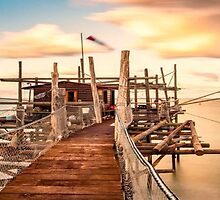 PIER SEA by Mominsminions