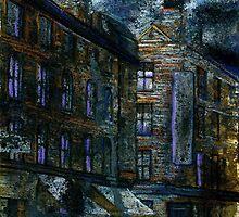 Altered, Whitechapel Background II by Cameron Hampton