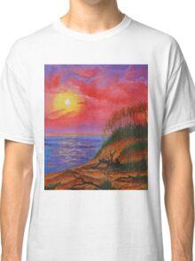 sky in fire Classic T-Shirt