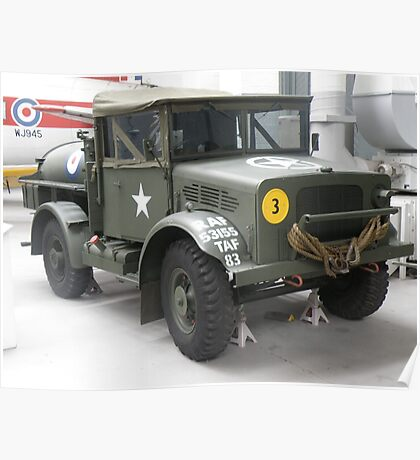 Bedford 15 cwt. Water Tanker. Poster