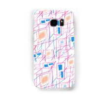 Square lines  Samsung Galaxy Case/Skin
