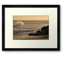 Felixstowe Swell Framed Print