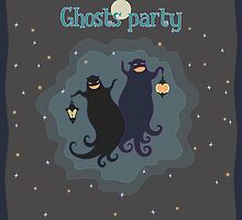 Ghosts party! by kylmaviha