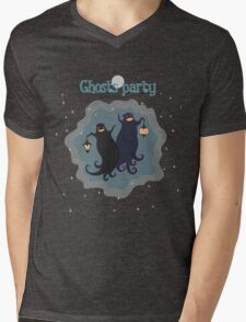 Ghosts party! Mens V-Neck T-Shirt