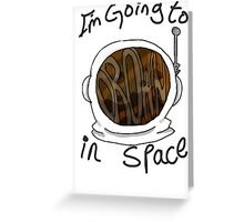 Drown in Space Greeting Card