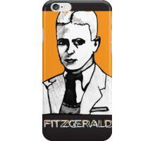 F Scott Fitzgerald 1920s Portrait  iPhone Case/Skin