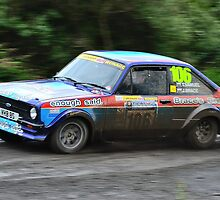 MK II Ford Escort RS1800 by Willie Jackson