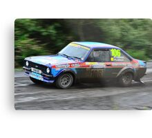 MK II Ford Escort RS1800 Metal Print