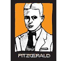 F Scott Fitzgerald 1920s Portrait  Photographic Print