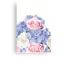 Erin's Bouquet Canvas Print
