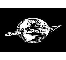 Stark Industries Global-White Photographic Print