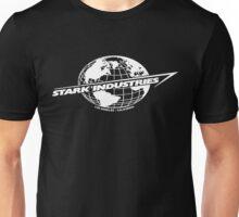 Stark Industries Global-White Unisex T-Shirt