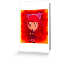Annie the Dark Child Greeting Card