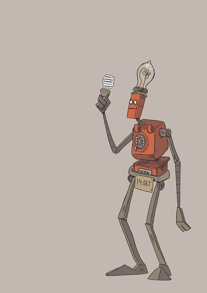 Robo by sleepyarmadillo