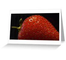 Strawberries...? Greeting Card