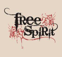 Free Spirit - Black Text by LTDesignStudio