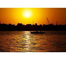 Sunset on the Creek Photographic Print