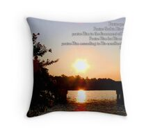 His excellent greatness Throw Pillow
