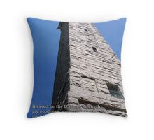 My hightower - he in whom I trust Throw Pillow