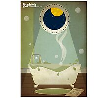 Invaders Bath Time Photographic Print