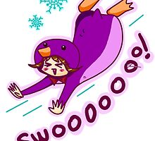Purple Penguin Kigurumi by ShionS3