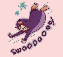 Purple Penguin Kigurumi Kids Clothes