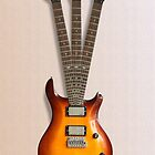 Vintage Triple Neck Guitar by Harry Purves
