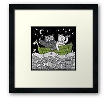 The Owl & The Pussycat Went to Sea Framed Print