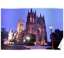 Twilight - National Cathedral Poster