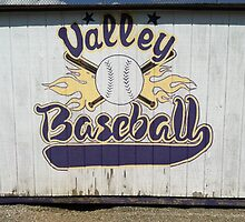Valley Baseball Merch by edwarddent